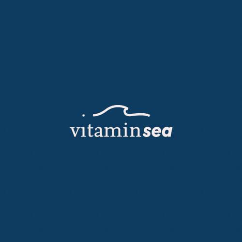 Diseño de la marca Vitamin Sea. Diseño de Logotipo e Imagotipo