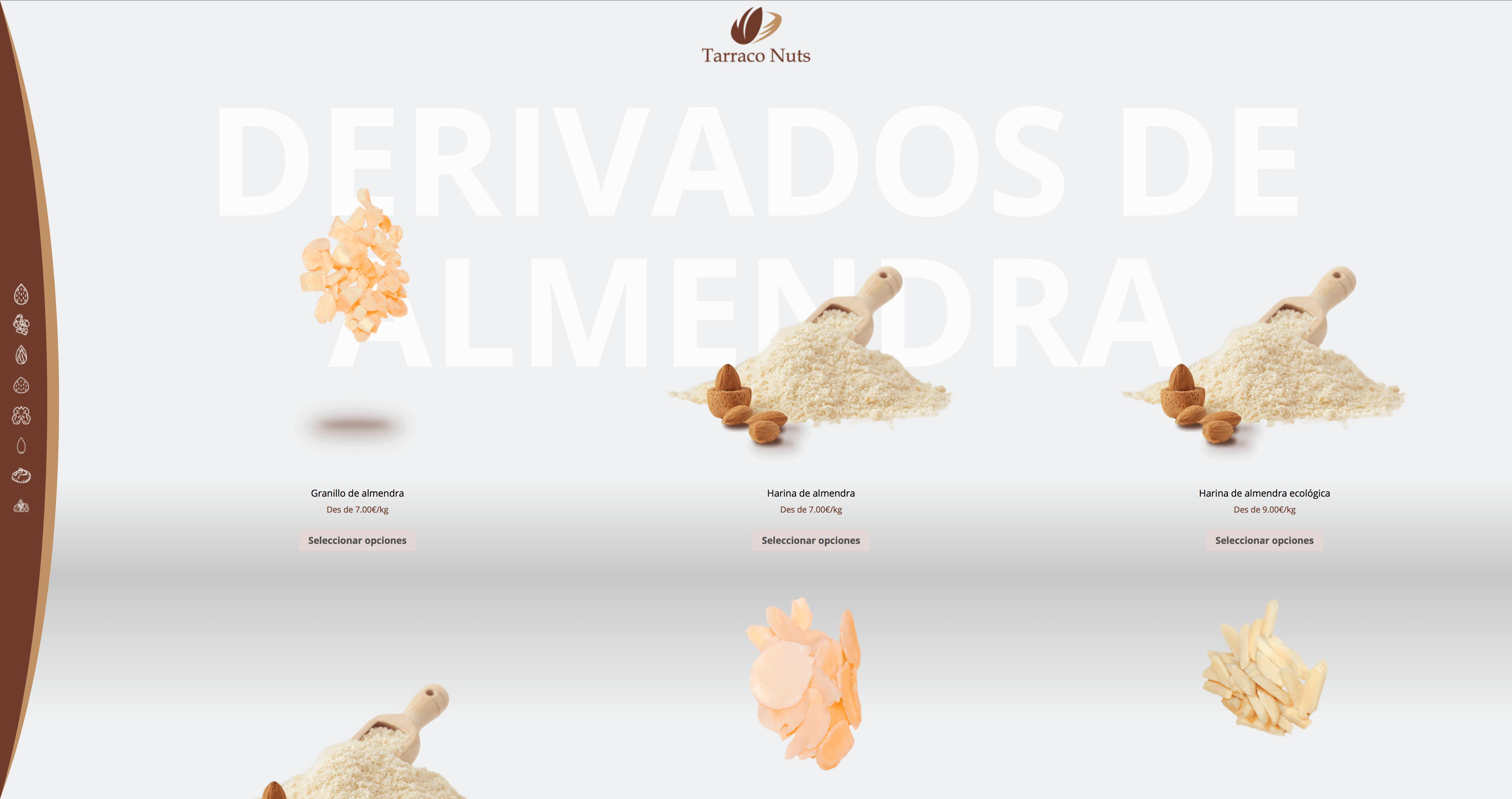 Diseño web ecommerce y tienda online de alimentación en Tarragona