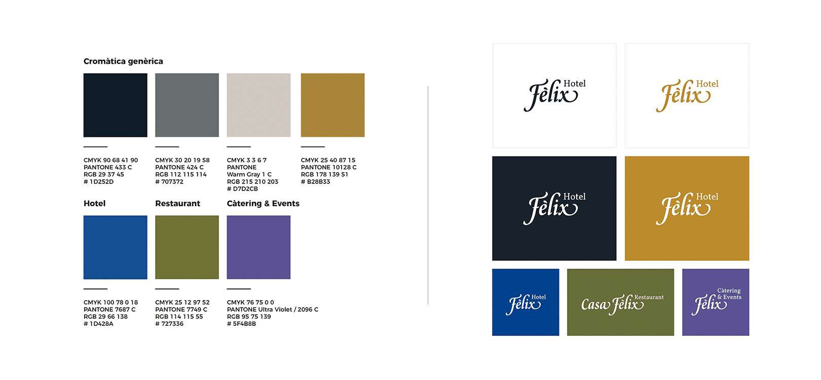 Diseño de Branding para Félix Hotel en Tarragona