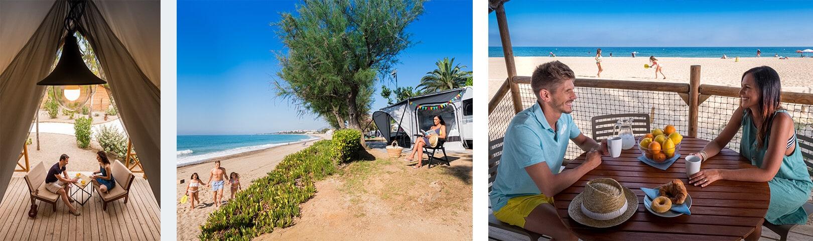 Fotografía corporativa para Campings Tarragona