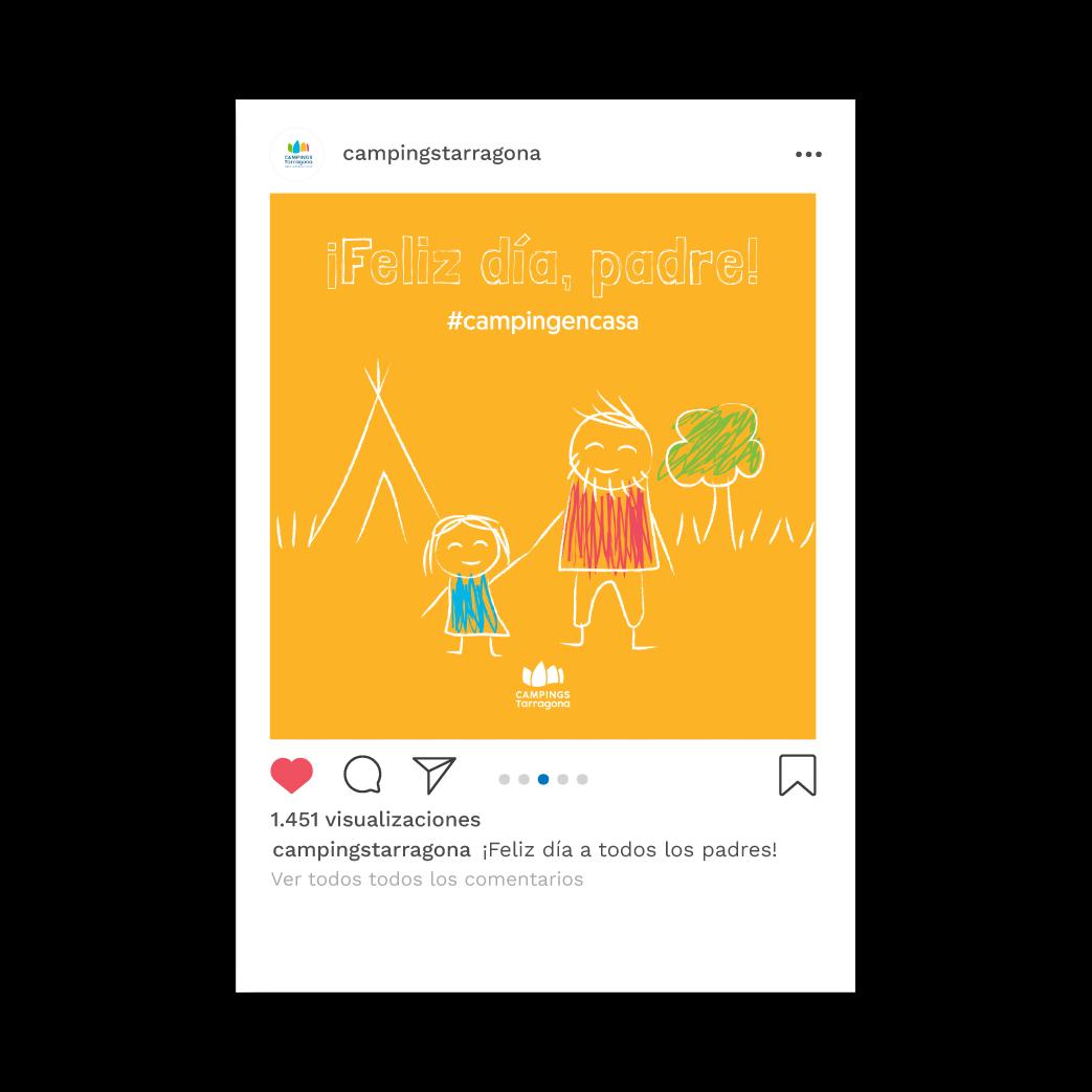 Diseño de Grafismo para Instagram