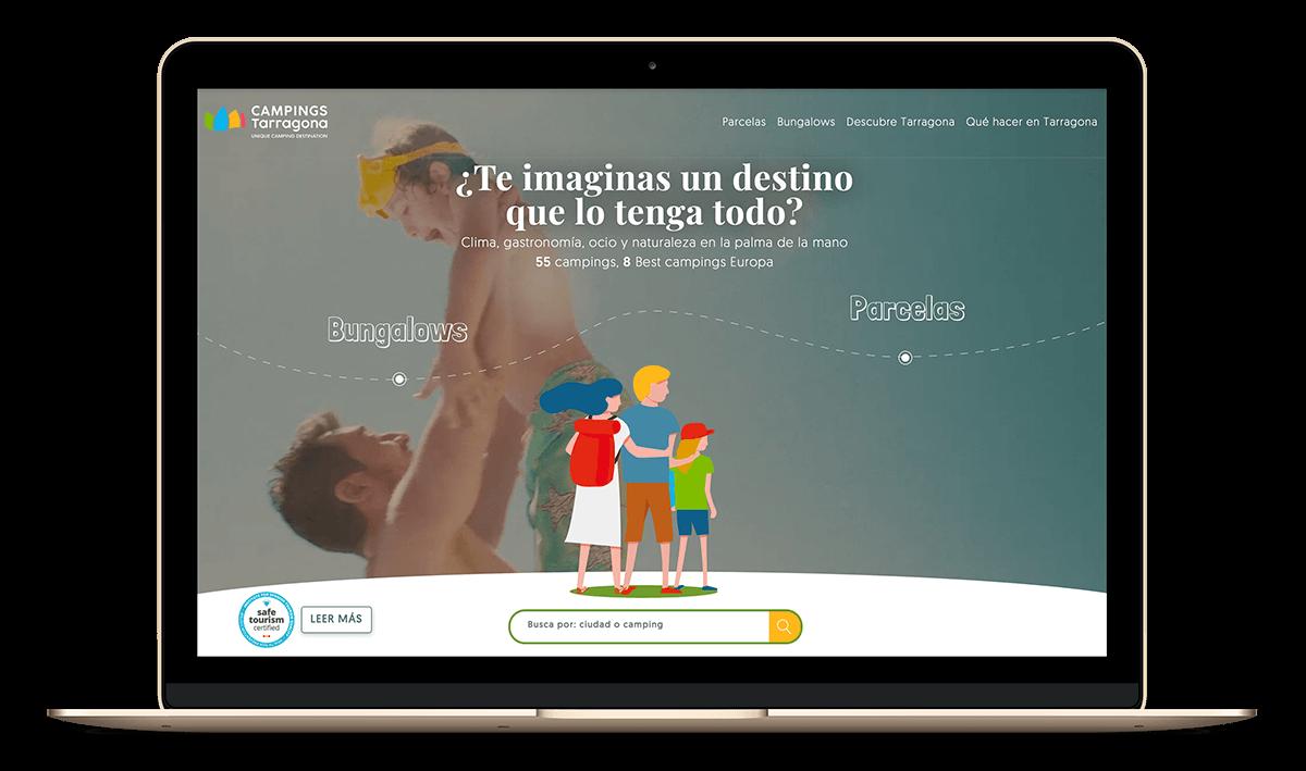 Diseño Web para Campings Tarragona