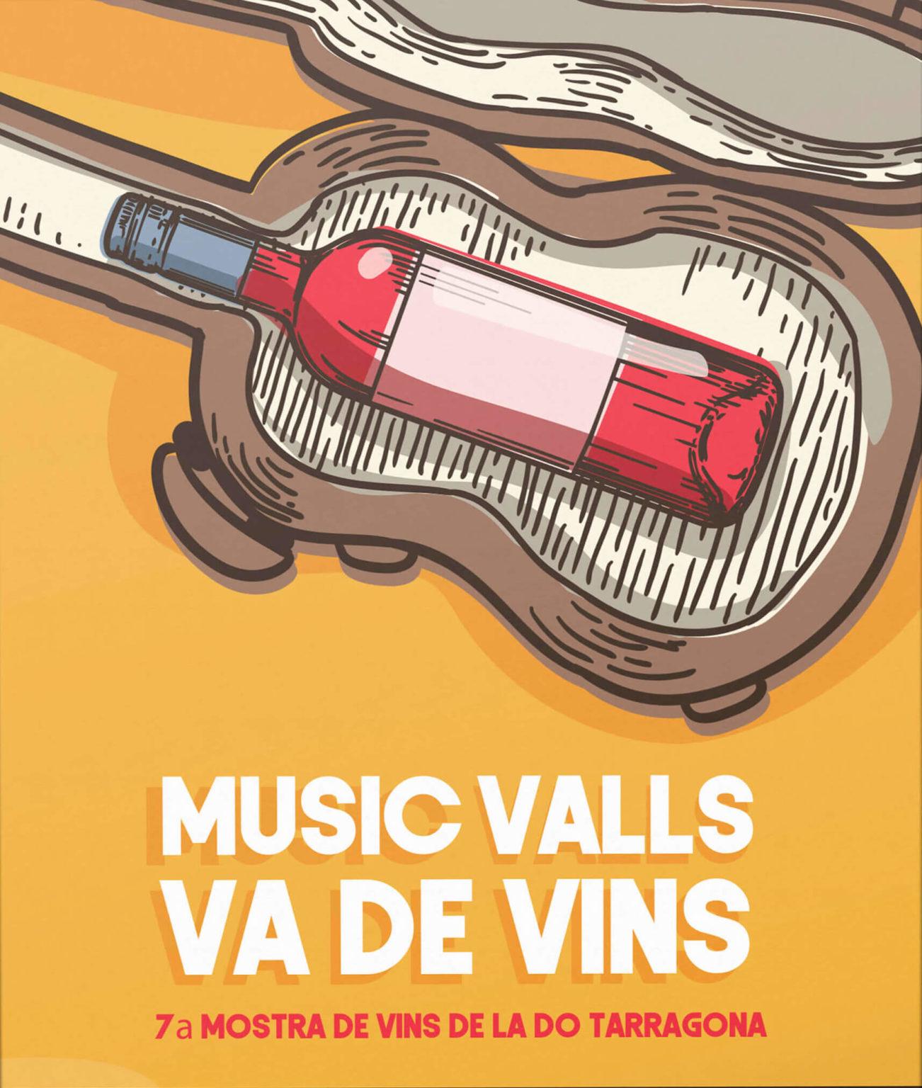 Diseño de cartel Valls