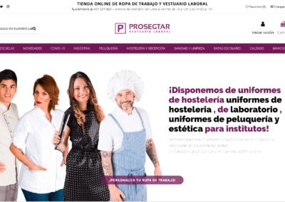 Diseño de Tienda de Ropa Online