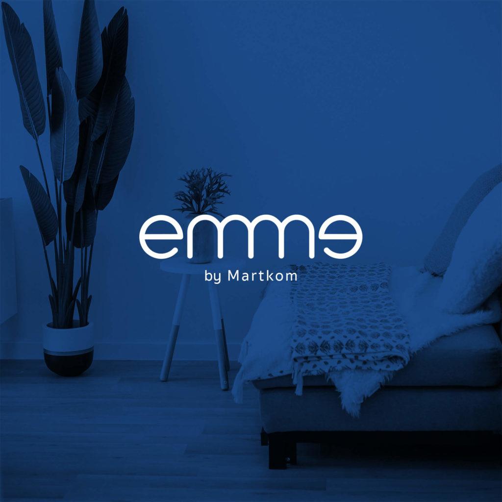 Diseño de marca para Emme by Martkom