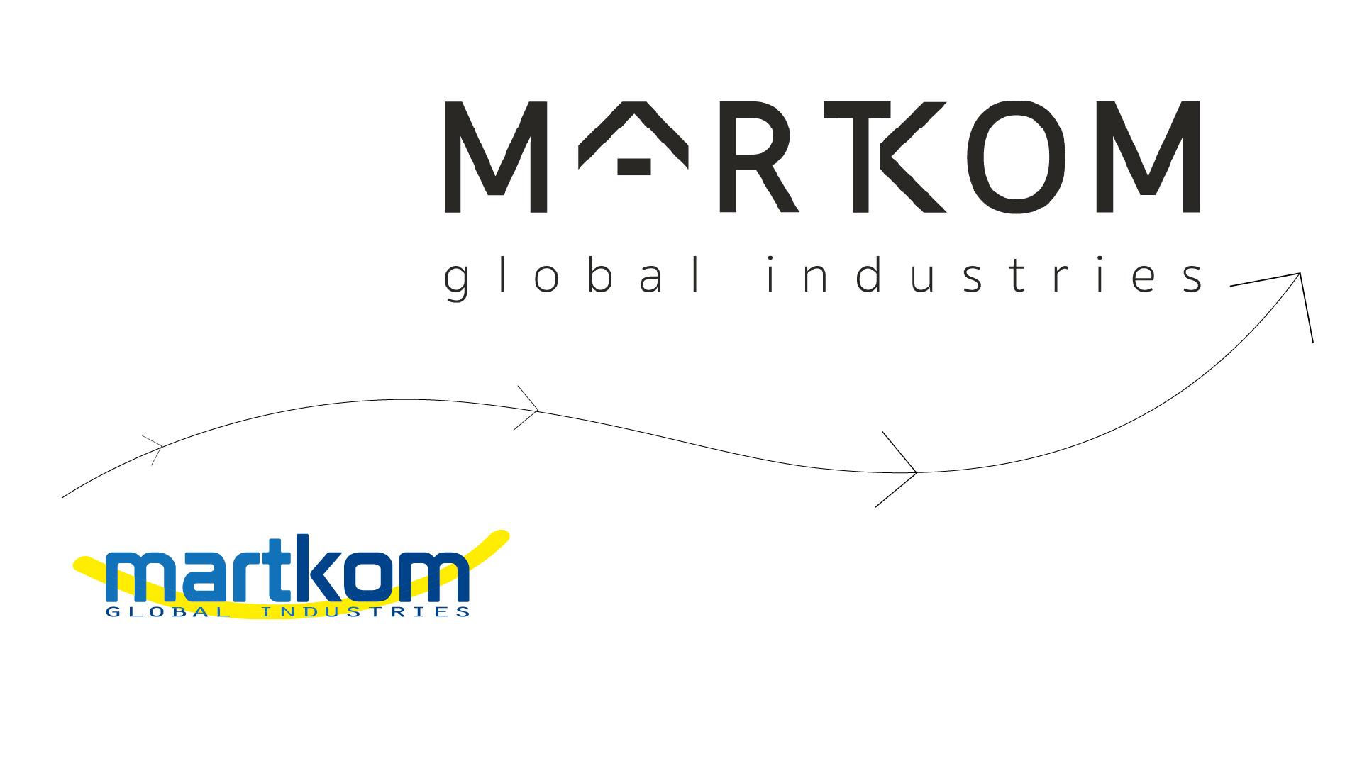 Rebranding para Martkom
