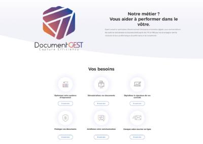 Diseño Web para empresa de impresión