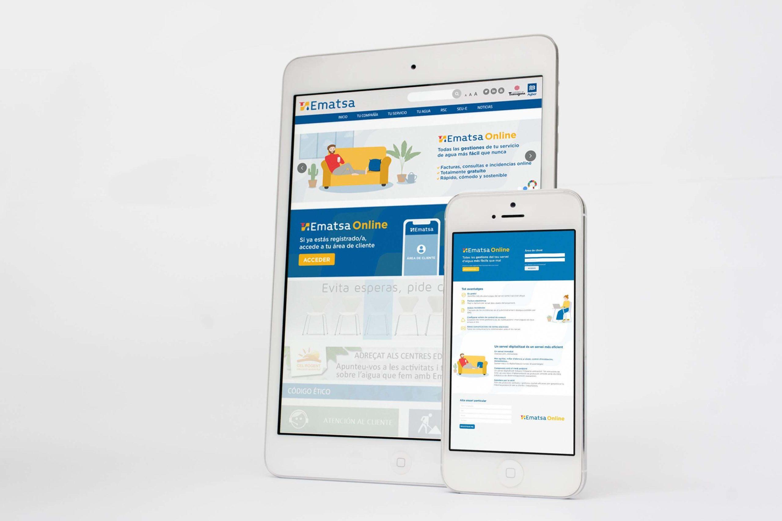 Campaña Publiciaria para Ematsa Online | Olalon