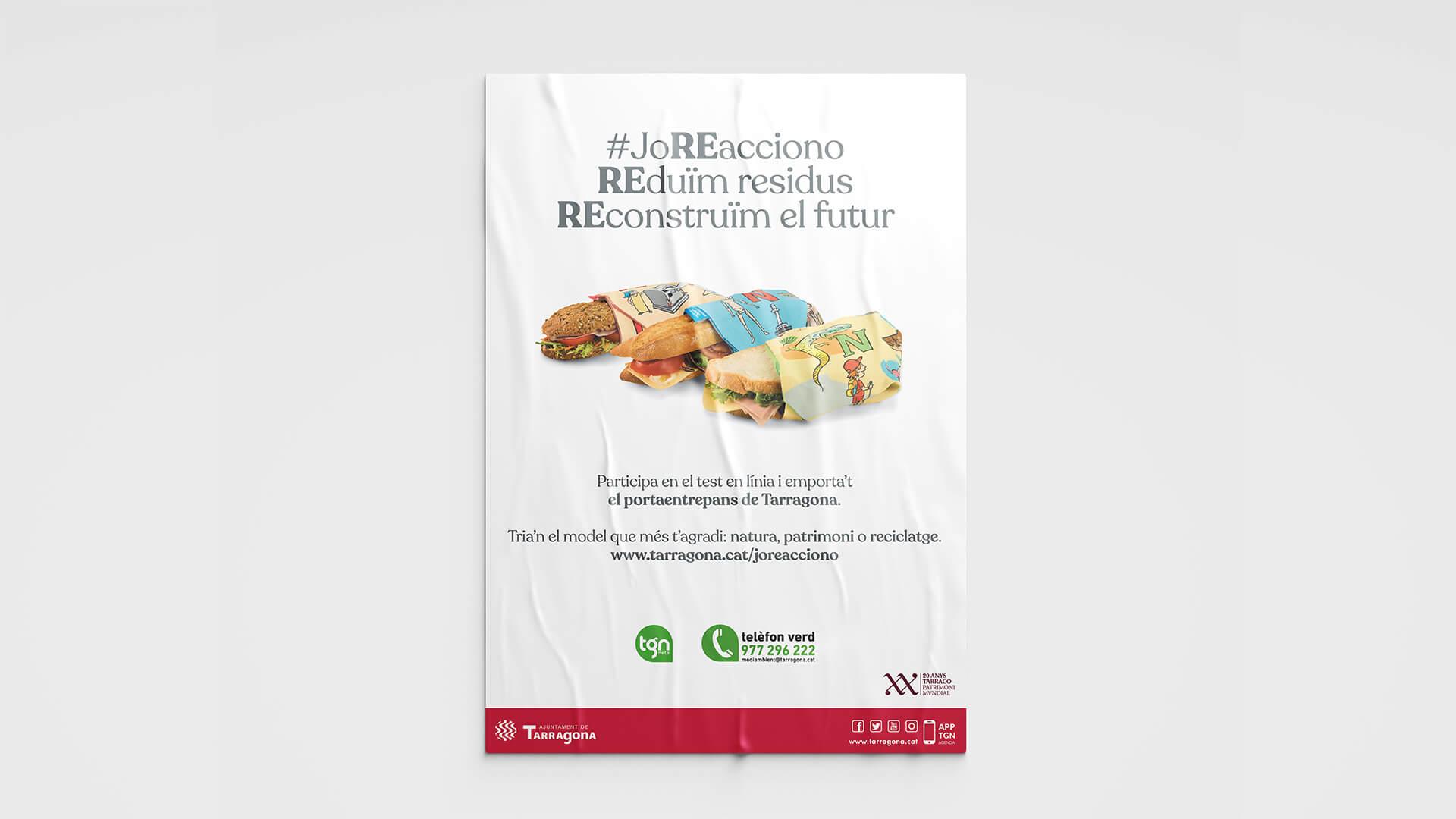 Campaña Publicitaria para el Ajuntament de Tarragona