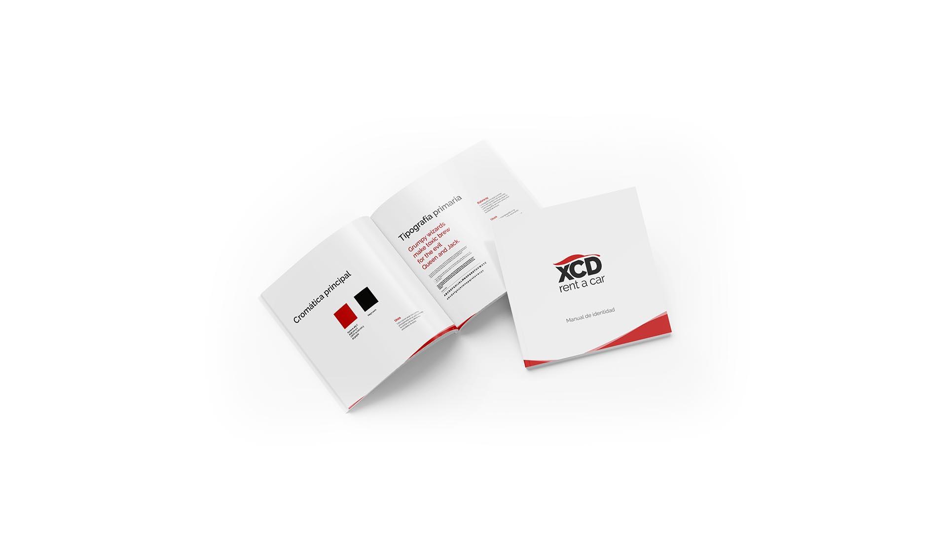 Diseño de logotipo para empresa de alquiler de vehículos