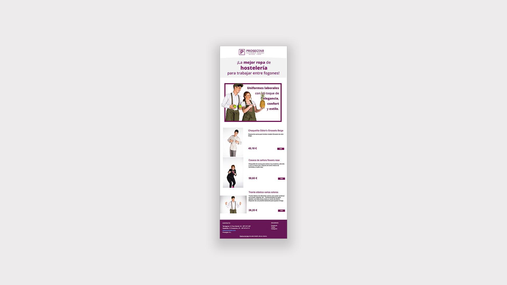Diseño de Newsletter para empresas